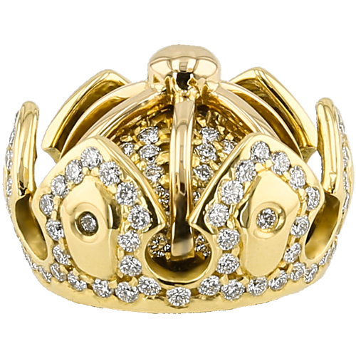 Yellow Gold Crown
