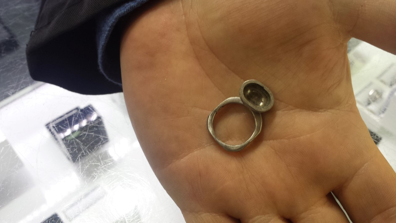 ring and head for ring